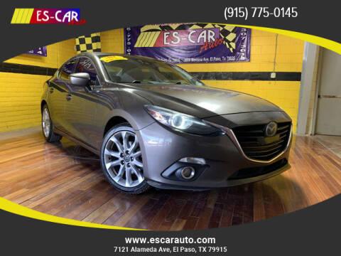 2014 Mazda MAZDA3 for sale at Escar Auto - 9809 Montana Ave Lot in El Paso TX