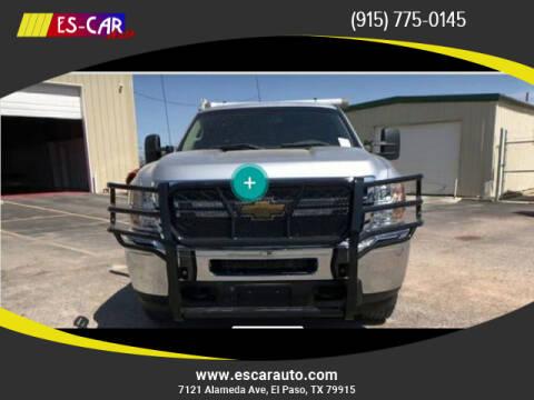 2014 Chevrolet Silverado 2500HD for sale at Escar Auto in El Paso TX