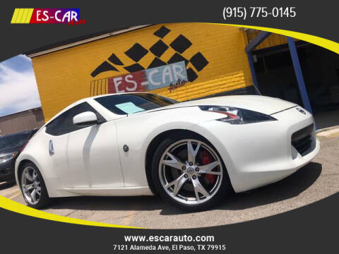 2009 Nissan 370Z for sale at Escar Auto - 9809 Montana Ave Lot in El Paso TX