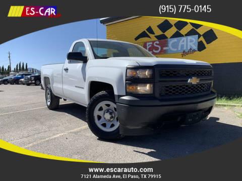 2014 Chevrolet Silverado 1500 for sale at Escar Auto - 9809 Montana Ave Lot in El Paso TX