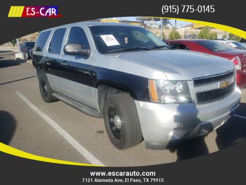 2012 Chevrolet Tahoe for sale at Escar Auto in El Paso TX