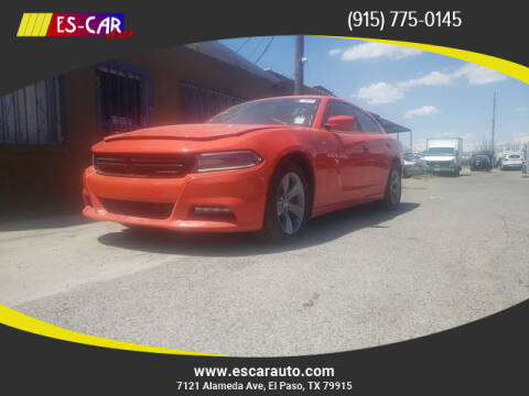 2017 Dodge Charger for sale at Escar Auto in El Paso TX
