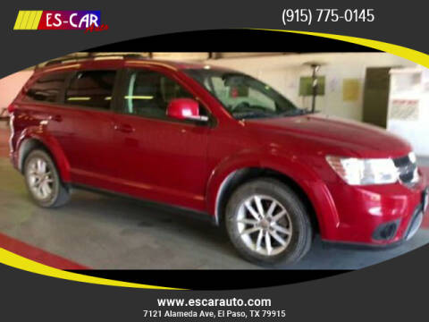 2016 Dodge Journey for sale at Escar Auto in El Paso TX