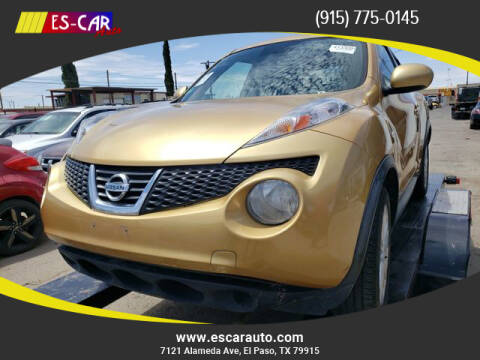 2013 Nissan JUKE for sale at Escar Auto in El Paso TX
