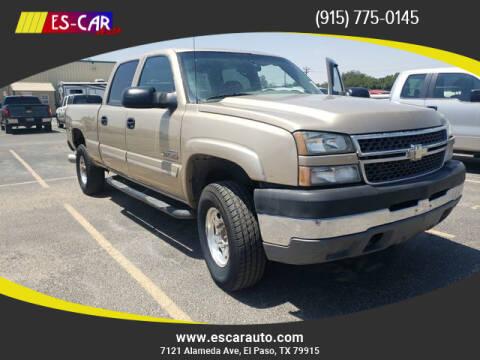 2005 Chevrolet Silverado 2500HD for sale at Escar Auto in El Paso TX