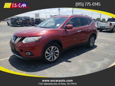 2014 Nissan Rogue for sale at Escar Auto in El Paso TX