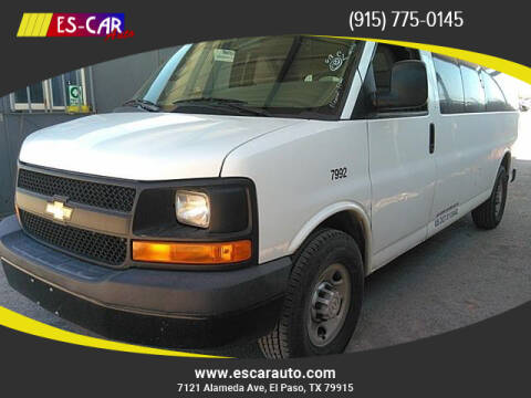 2016 Chevrolet Express Passenger for sale at Escar Auto in El Paso TX
