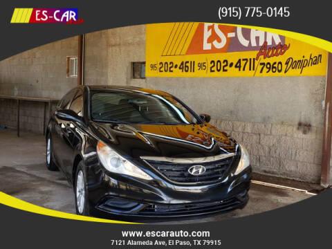 2013 Hyundai Sonata for sale at Escar Auto in El Paso TX