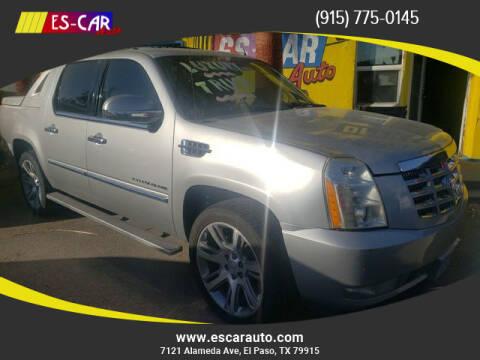 2010 Cadillac Escalade EXT for sale at Escar Auto in El Paso TX