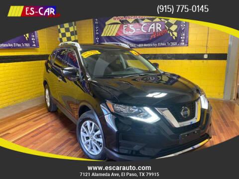 2019 Nissan Rogue for sale at Escar Auto - 9809 Montana Ave Lot in El Paso TX