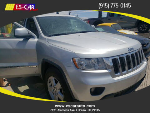2011 Jeep Grand Cherokee for sale at Escar Auto in El Paso TX