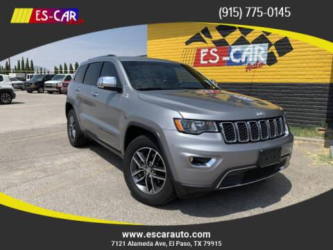 2017 Jeep Grand Cherokee for sale at Escar Auto - 9809 Montana Ave Lot in El Paso TX