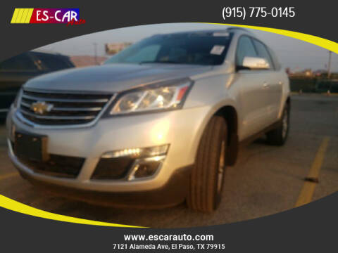 2016 Chevrolet Traverse for sale at Escar Auto in El Paso TX