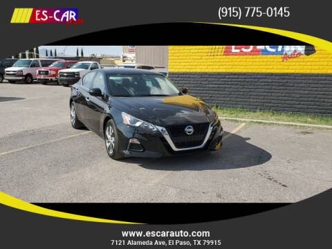 2020 Nissan Altima for sale at Escar Auto - 9809 Montana Ave Lot in El Paso TX