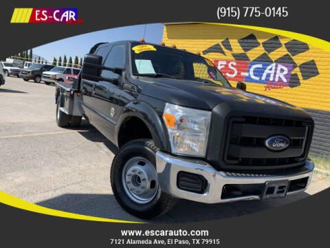 2015 Ford F-350 Super Duty for sale at Escar Auto - 9809 Montana Ave Lot in El Paso TX