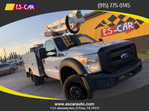 2011 Ford F-550 Super Duty for sale at Escar Auto in El Paso TX