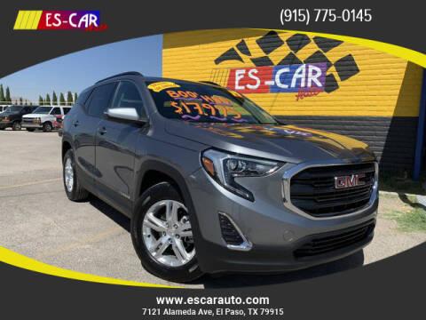 2019 GMC Terrain for sale at Escar Auto - 9809 Montana Ave Lot in El Paso TX