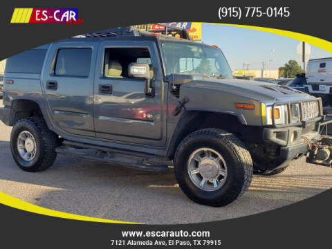 2006 HUMMER H2 for sale at Escar Auto in El Paso TX