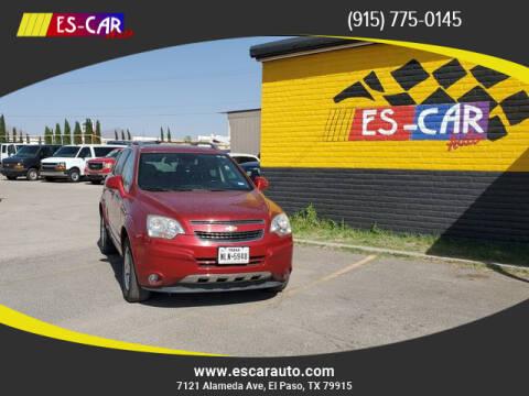 2012 Chevrolet Captiva Sport for sale at Escar Auto - 9809 Montana Ave Lot in El Paso TX