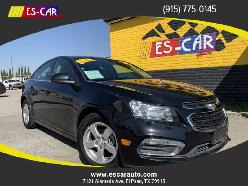 2016 Chevrolet Cruze Limited for sale at Escar Auto - 9809 Montana Ave Lot in El Paso TX