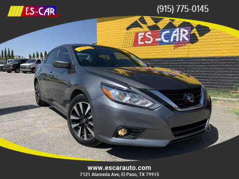 2018 Nissan Altima for sale at Escar Auto in El Paso TX