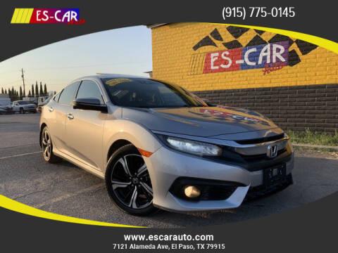 2016 Honda Civic for sale at Escar Auto in El Paso TX
