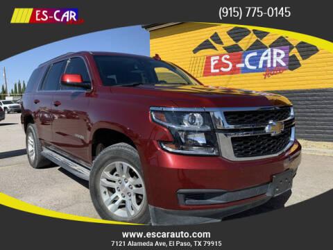 2019 Chevrolet Tahoe for sale at Escar Auto in El Paso TX