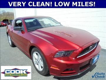 2014 ford mustang for sale for Cook motors aberdeen md