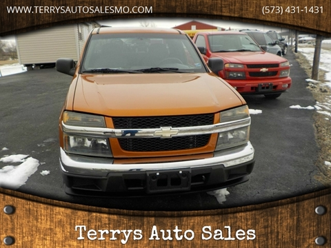 Terrys Auto Sales >> Used 2004 Chevrolet Colorado For Sale - Carsforsale.com®