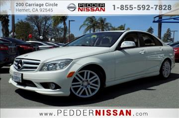 2009 Mercedes-Benz C-Class for sale in Hemet, CA