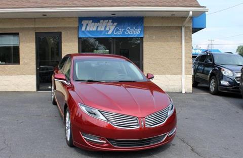 2016 Lincoln MKZ for sale in Springfield, MA