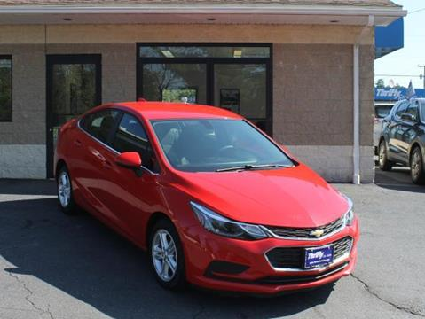 2017 Chevrolet Cruze for sale in Springfield, MA