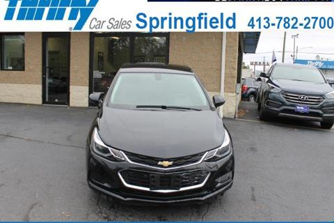 2016 Chevrolet Cruze for sale in Springfield, MA