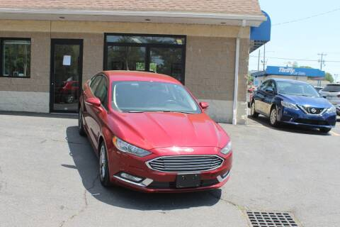 2017 Ford Fusion for sale at Thrifty Car Sales Springfield in Springfield MA