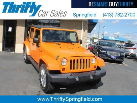 2012 Jeep Wrangler Unlimited for sale at Thrifty Car Sales Springfield in Springfield MA