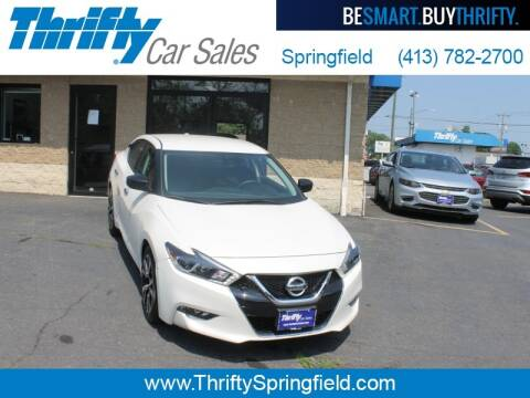 2018 Nissan Maxima for sale at Thrifty Car Sales Springfield in Springfield MA