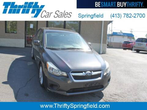 2012 Subaru Impreza for sale at Thrifty Car Sales Springfield in Springfield MA