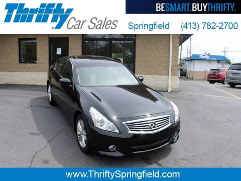 2013 Infiniti G37 Sedan for sale at Thrifty Car Sales Springfield in Springfield MA