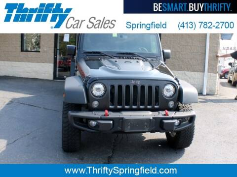 2018 Jeep Wrangler JK Unlimited for sale at Thrifty Car Sales Springfield in Springfield MA