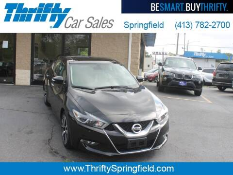 2017 Nissan Maxima for sale at Thrifty Car Sales Springfield in Springfield MA