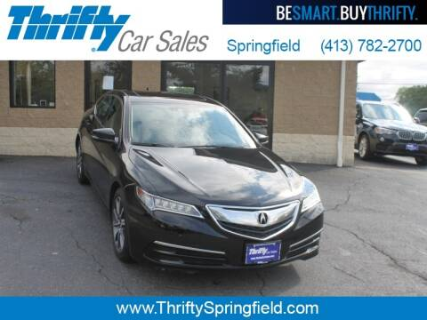 2017 Acura TLX for sale at Thrifty Car Sales Springfield in Springfield MA