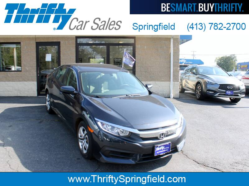 2017 Honda Civic for sale at Thrifty Car Sales Springfield in Springfield MA