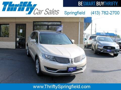 2017 Lincoln MKX for sale at Thrifty Car Sales Springfield in Springfield MA