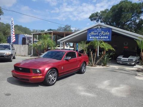 2005 Ford Mustang for sale at NEXT RIDE AUTO SALES INC in Tampa FL