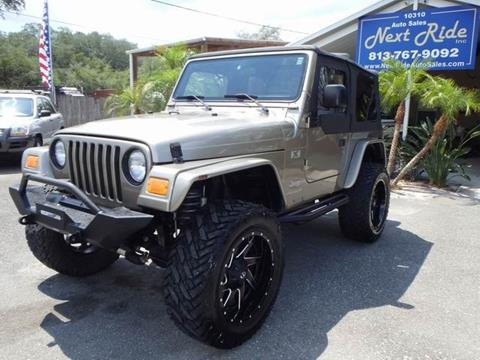 2004 Jeep Wrangler for sale at NEXT RIDE AUTO SALES INC in Tampa FL