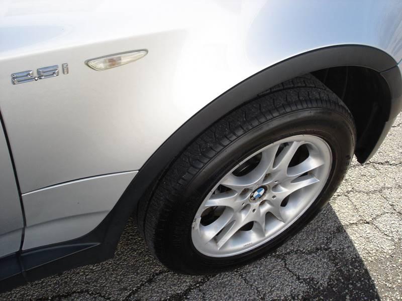 2004 Bmw X3 AWD 2.5i 4dr SUV In Decatur IL - Martys Auto Sales