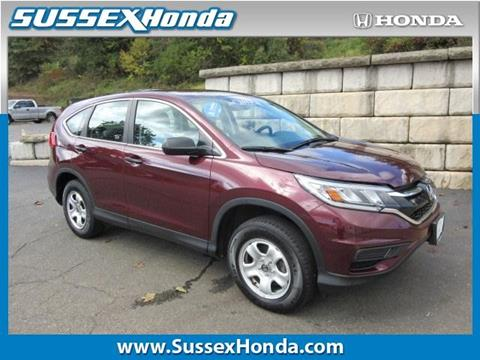 2015 Honda CR-V for sale in Newton NJ