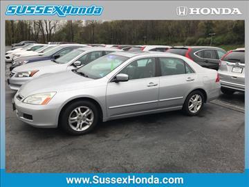 2007 Honda Accord for sale in Newton, NJ
