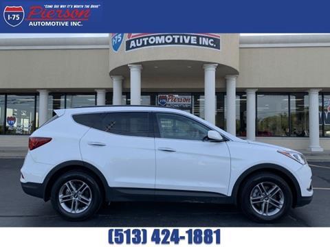 2017 Hyundai Santa Fe Sport for sale in Franklin, OH