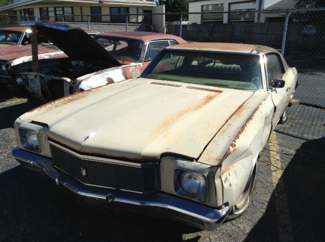 1971 Chevrolet Monte Carlo for sale at Mr Wonderful Motorsports in Aurora IL